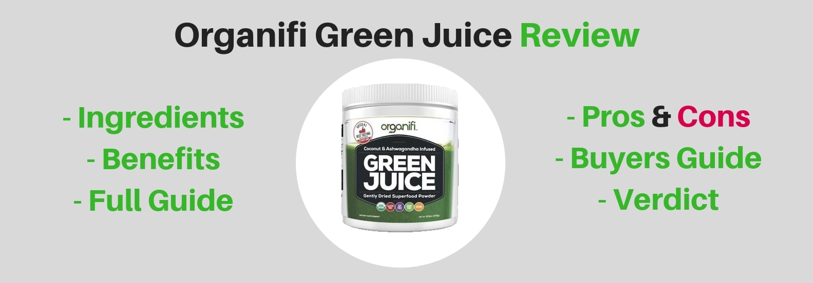 Image of Organifi green juice